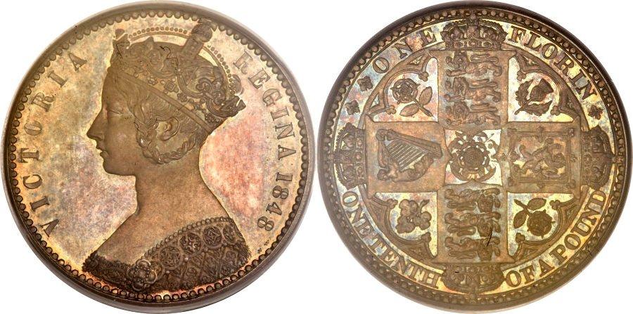 ゴシックビクトリアのコイン