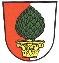 18世紀ドイツ都市景観コインその1(アウクスブルク)