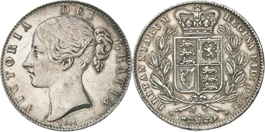 ビクトリアのクラウン銀貨について