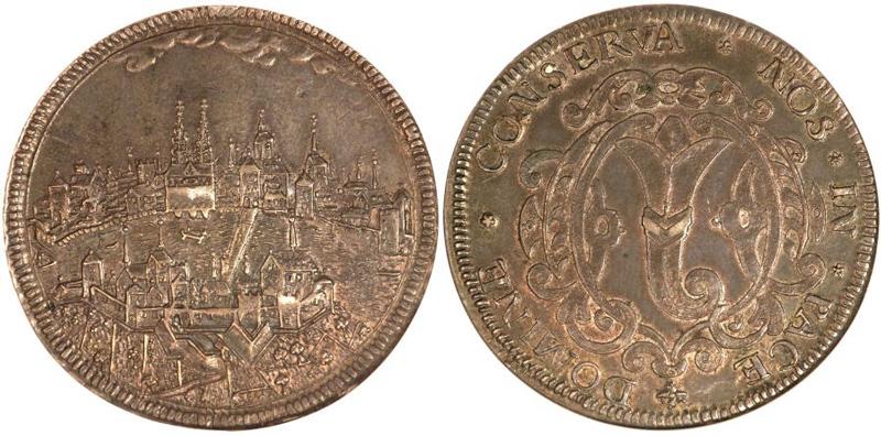 スイス、バーゼル都市景観銀貨について