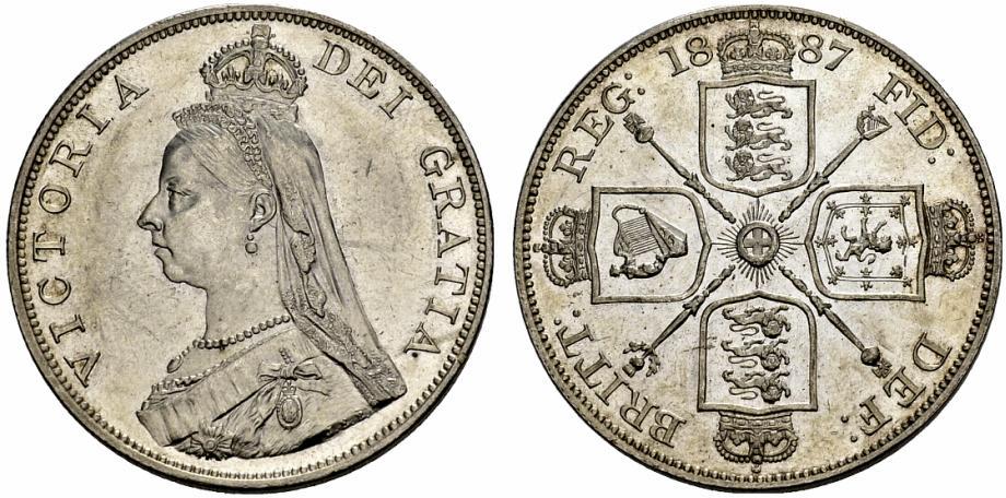 ビクトリアのフローリン銀貨について