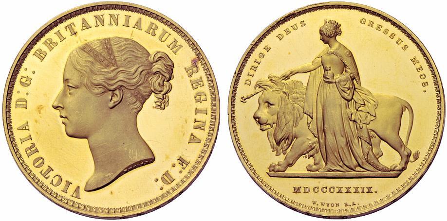 ヴィクトリアのレアな金貨について