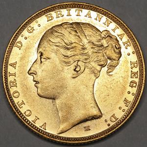 ビクトリアとウンベルトの金貨について