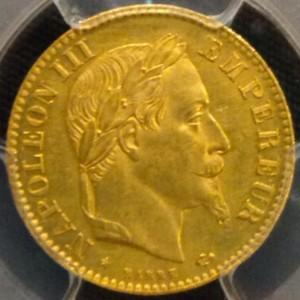 ナポレオン見本金貨