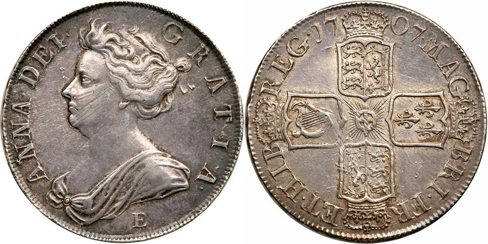 アン女王クラウン銀貨