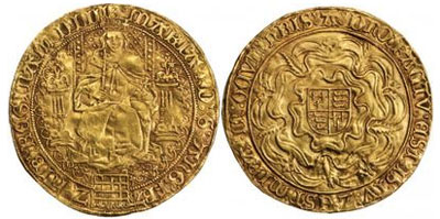 イングランド女王 メアリー1世のコインについて