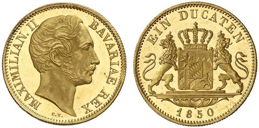 バイエルン王マクシミリアンⅡ世の金貨について