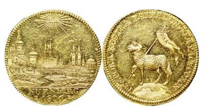 ドイツ ニュルンベルクのアンティークコインについて