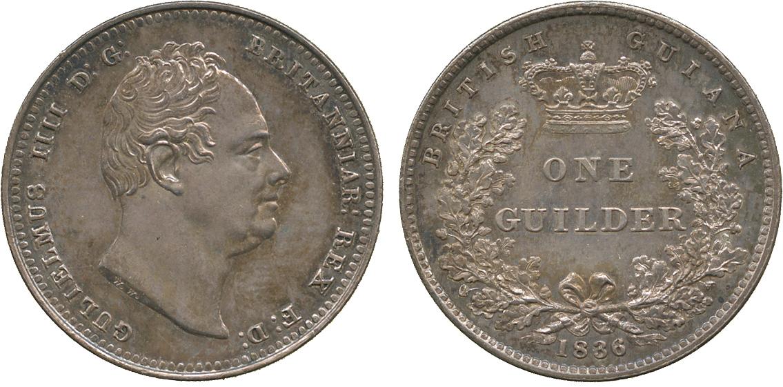 英領ギアナ(ガイアナ)のコインについて