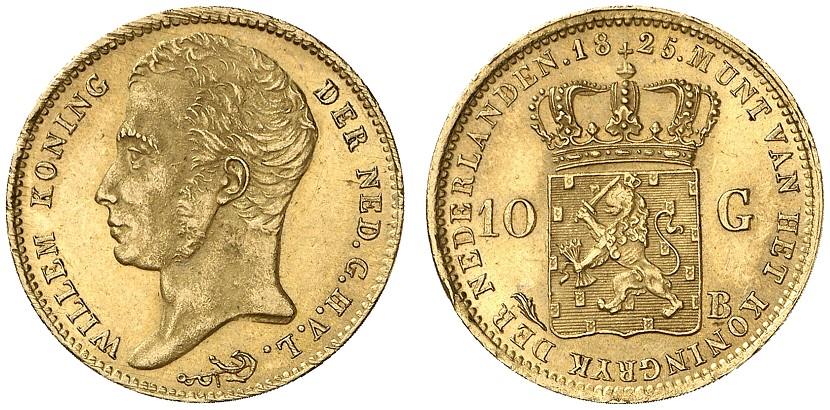 オランダ王ウィレム1世のアンティークコインについて