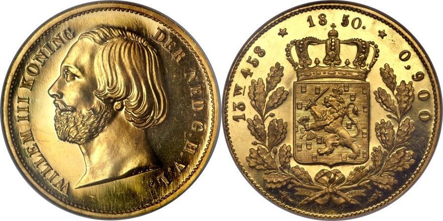 オランダ王ウィレム3世のコインについて