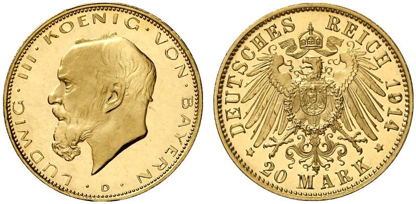 バイエルン王ルートヴィッヒ3世のコインについて