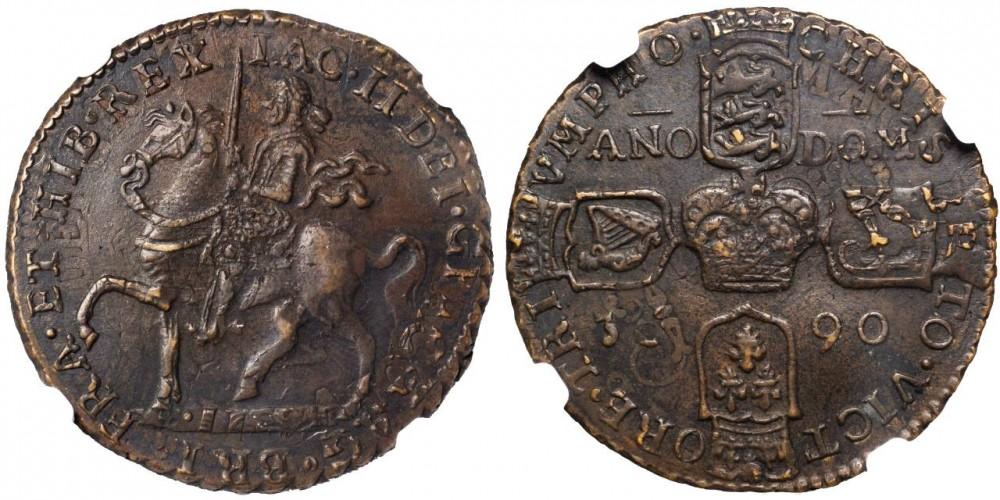 英国王ジェームズ2世のガンマネー