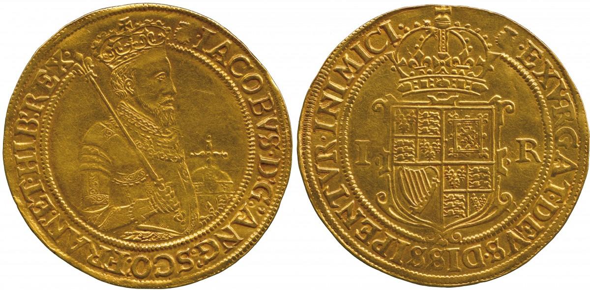 英国王ジェームズⅠ世のアンティークコインについて