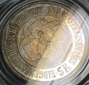 5フラン銀貨