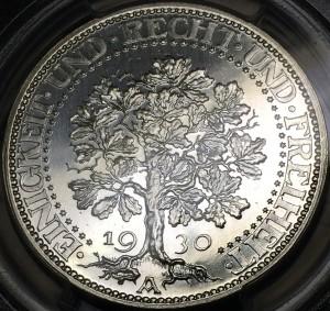 樫の木銀貨