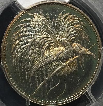 極楽鳥銀貨