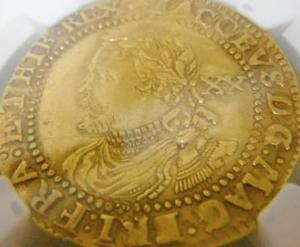 オークションに出品されている英国の希少金貨