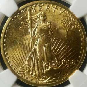 もうすぐオークション終了予定の米国の希少コイン