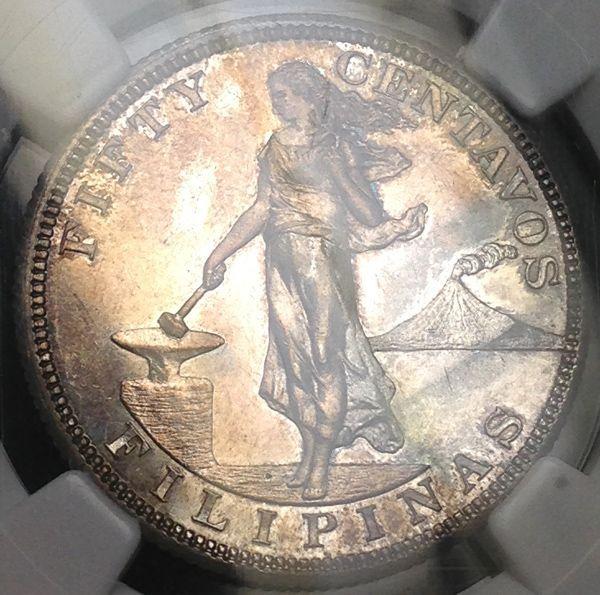 フィリピンとドイツのプルーフ銀貨