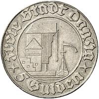 ダンチヒの5グルデン銀貨についてその2