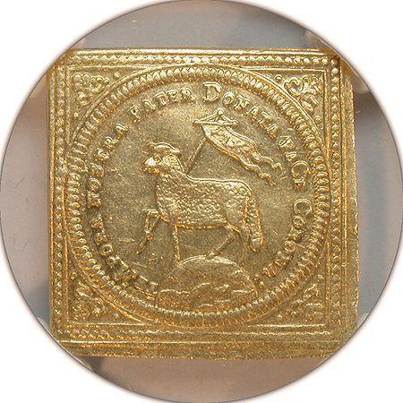 1700年 ニュルンベルク ラムダカット金貨のお知らせ