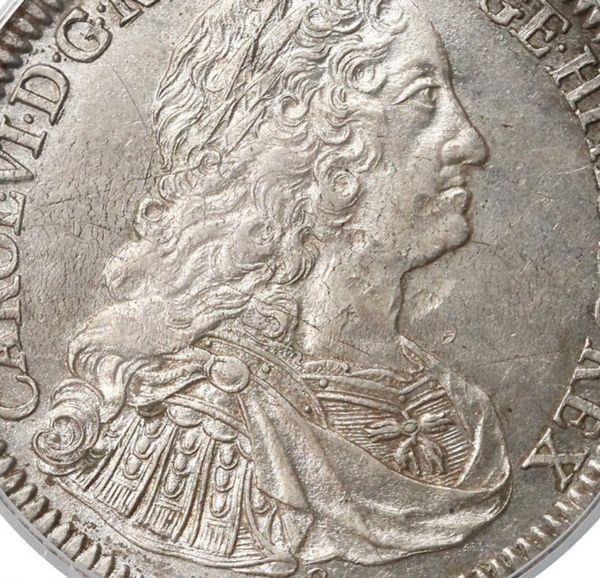 ハプスブルク家 カール6世 神聖ローマ皇帝 ターラー銀貨