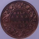 インド ビクトリア貨