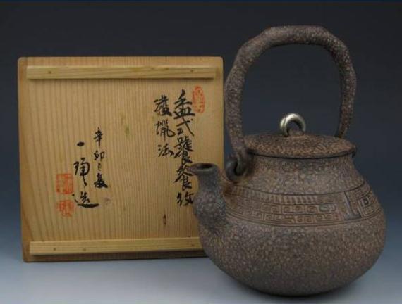 亀文堂の鉄瓶
