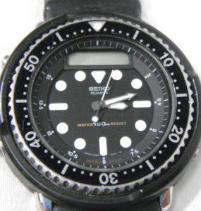 セイコー ハイブリッドダイバー H558-5000