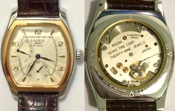 ローレルのビンテージ腕時計
