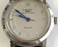 セイコー ローレル手巻き腕時計