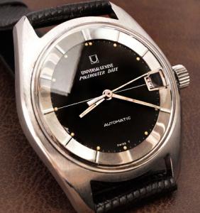 ユニバーサルジェネーブ腕時計