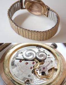 JUVENIAジュベニア 手巻き 17石 ビンテージ腕時計