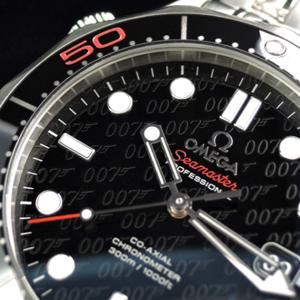 コーアクシャル ジェームズ・ボンド「007」50周年記念モデル